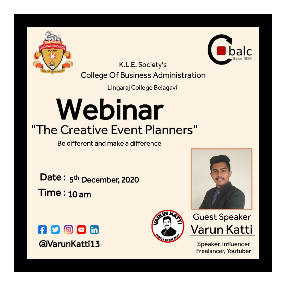 Webinar – The Creative Event Planners