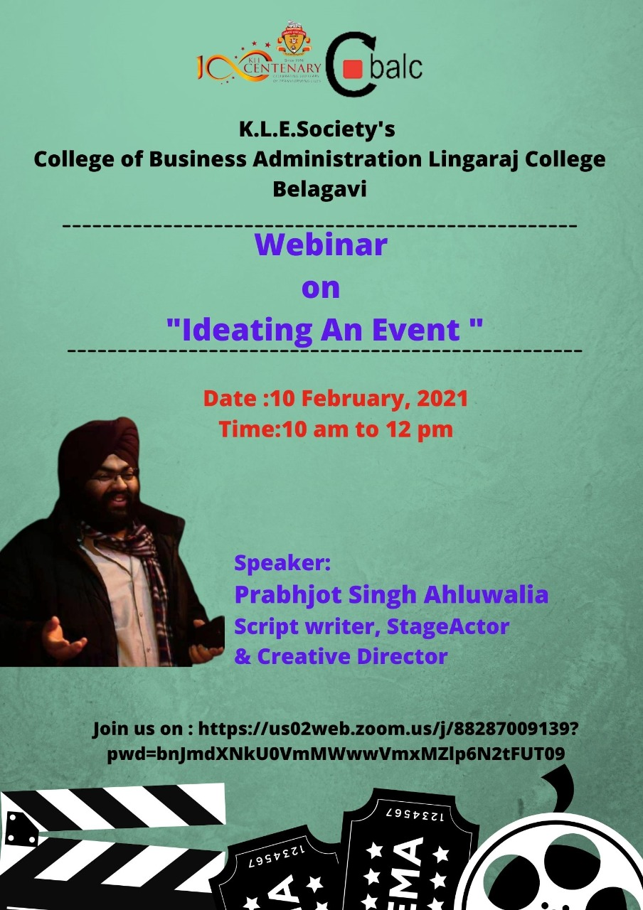 Webinar on Ideating an Event