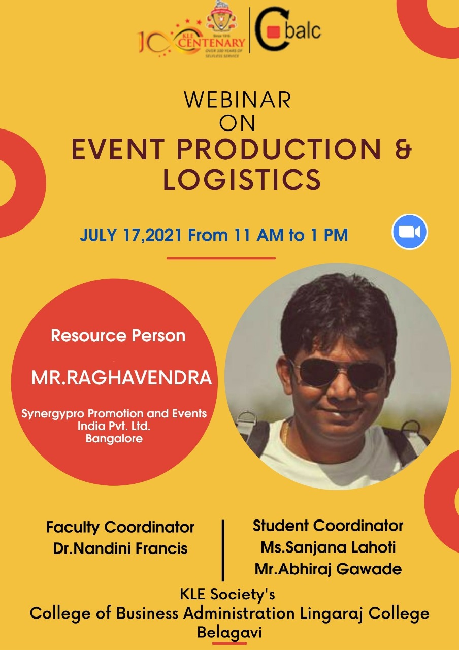 Events Production & Logistics Webinar